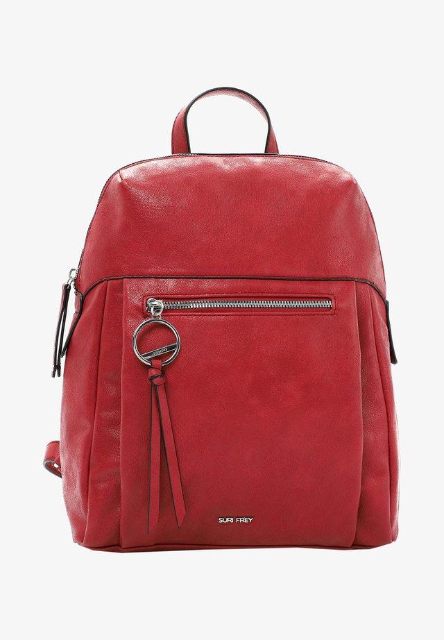 LUZY - Rucksack - red 600