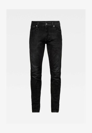 SCUTAR 3D SLIM TAPERED - Slim fit jeans - black iced flock