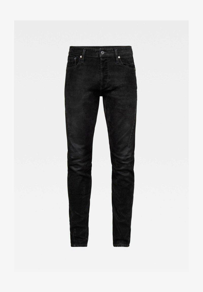 G-Star - SCUTAR 3D SLIM TAPERED - Slim fit jeans - black iced flock