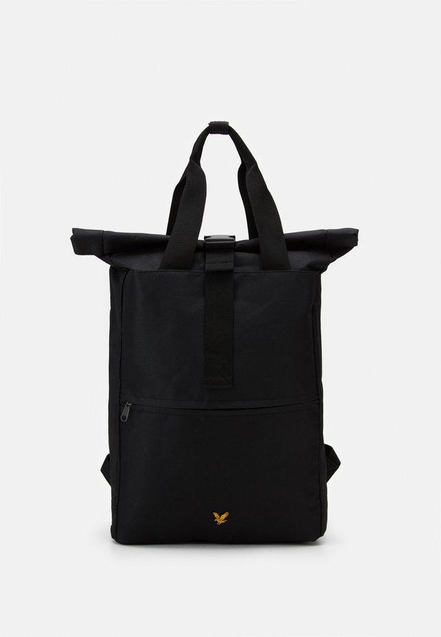 ROLL TOP BACKPACK - Rucksack - true black