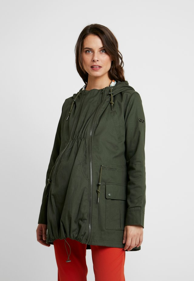 LARA 3-IN-1 MILITARY STYLE - Chaqueta fina - khaki green