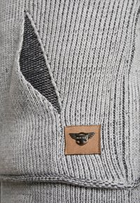 INDICODE JEANS - DANE - Strickpullover - light grey - 4