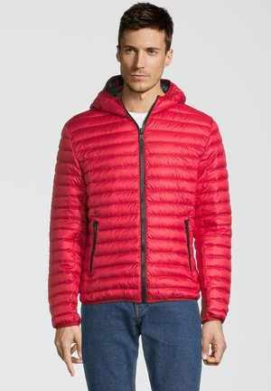 KAPUZE - Down jacket - red