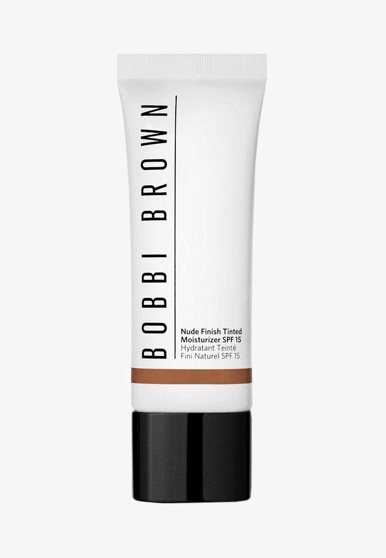 Bobbi Brown - NUDE FINISH TINTED MOISTURIZER SPF15  - Tinted moisturiser - 8 deep