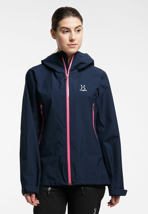 HARDSHELLJACKE ROC GTX JACKET WOMEN - Hardshell jacket - tarn blue