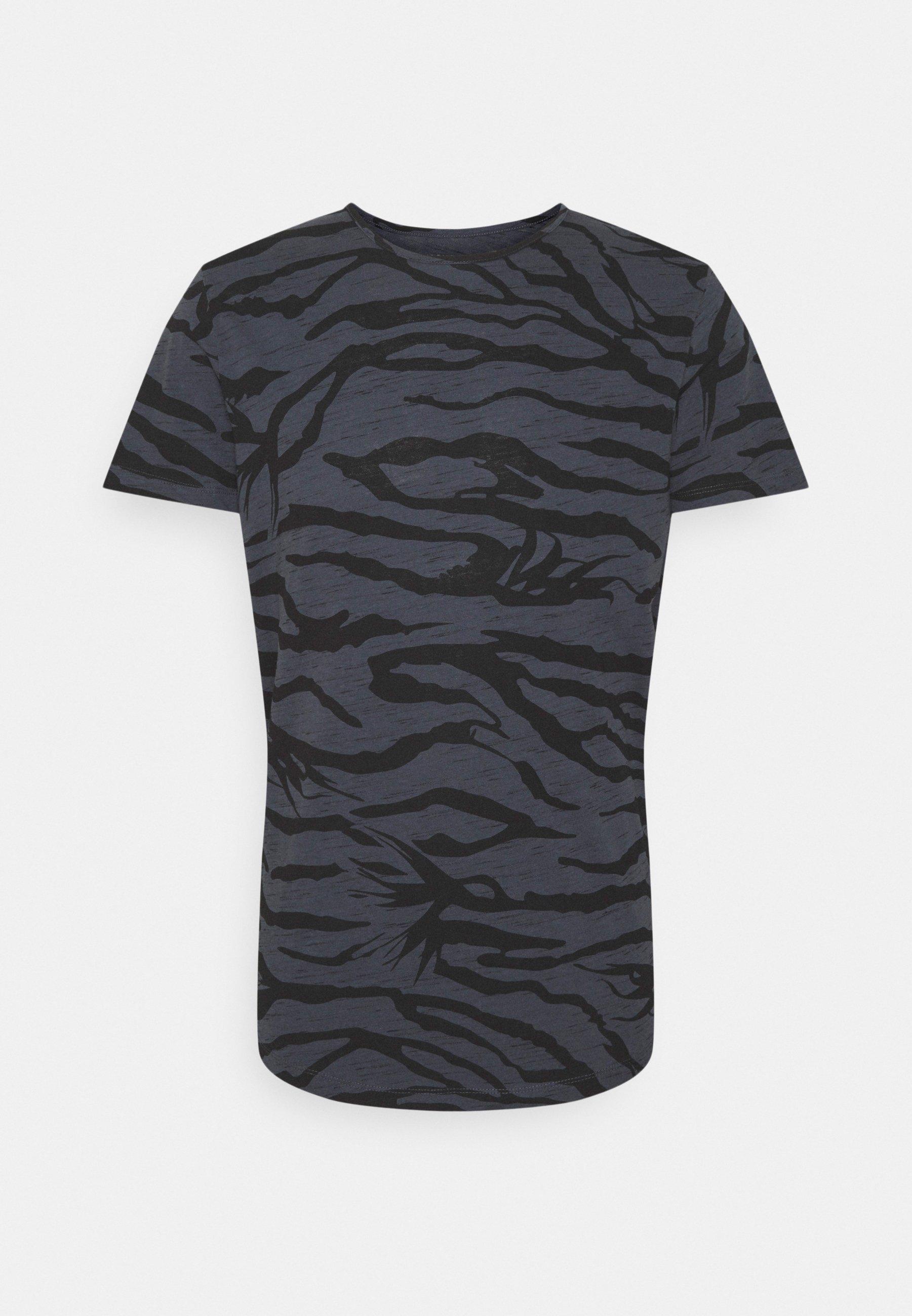 Homme JORRON TEE CREW NECK - T-shirt imprimé