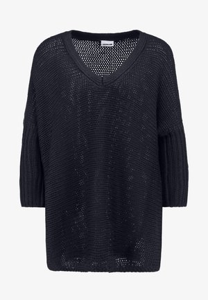 NMVERA V NECK - Strikkegenser - night sky