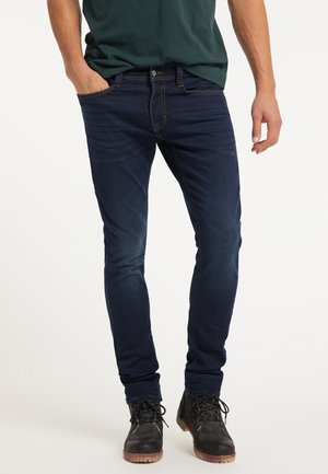 Jeans Tapered Fit - blau
