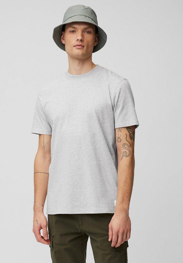 Basic T-shirt - silvered melange