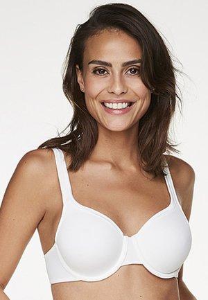 SATIN FLEECE - T-shirt bra - white