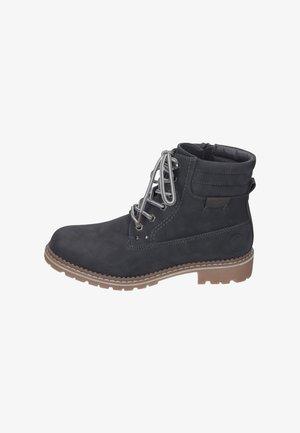 Šněrovací kotníkové boty - gray