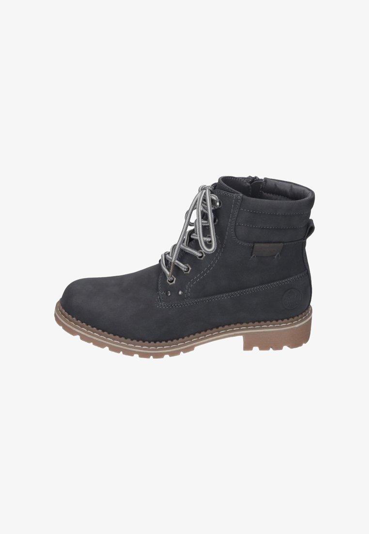 Rieker - Šněrovací kotníkové boty - gray