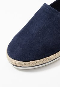 Anna Field - LEATHER - Espadrilles - dark blue - 2