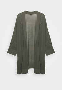 s.Oliver BLACK LABEL - 3/4 ARM - Cardigan - dark khaki green - 0