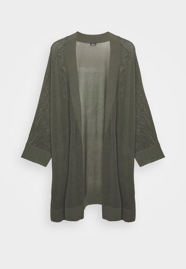 3/4 ARM - Neuletakki - dark khaki green