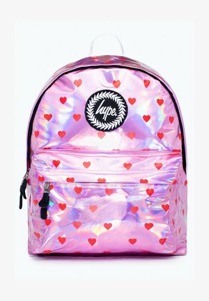 HEARTS - Backpack - pink