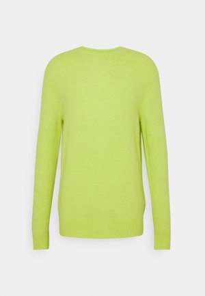 CREW NECK IN SOFT TOUCH QUALITY - Jumper - faded lime