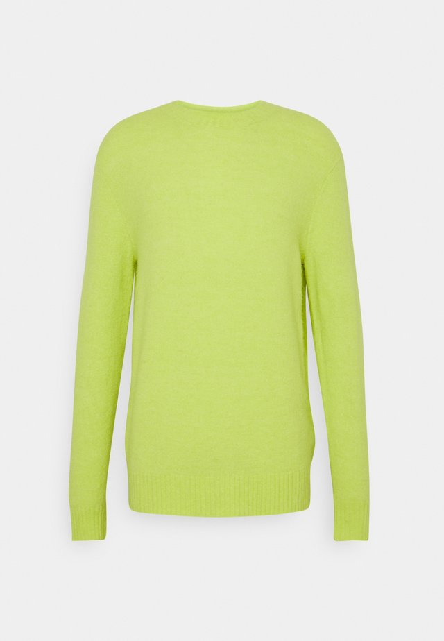 CREW NECK IN SOFT TOUCH QUALITY - Jersey de punto - faded lime