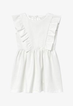 MAVIS PONTE - Jersey dress - ivory