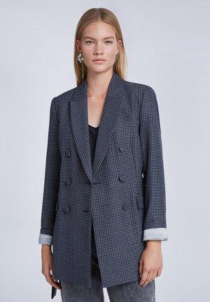 Short coat - dk grey blue