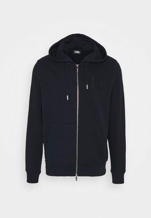 HOODY JACKET - Zip-up hoodie - navy