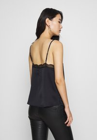 Abercrombie & Fitch - LINGERIE CAMI UPDAT - Top - black - 2