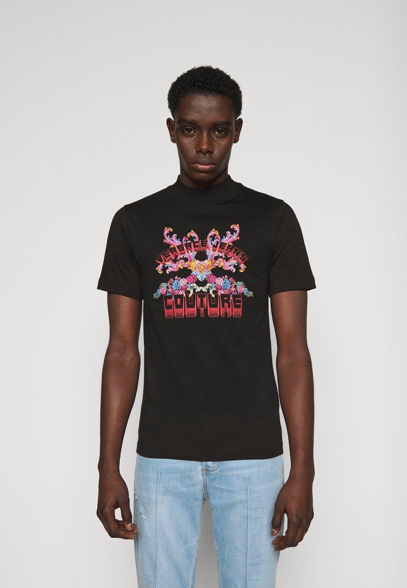 Versace Jeans Couture - MARK - Camiseta estampada - black