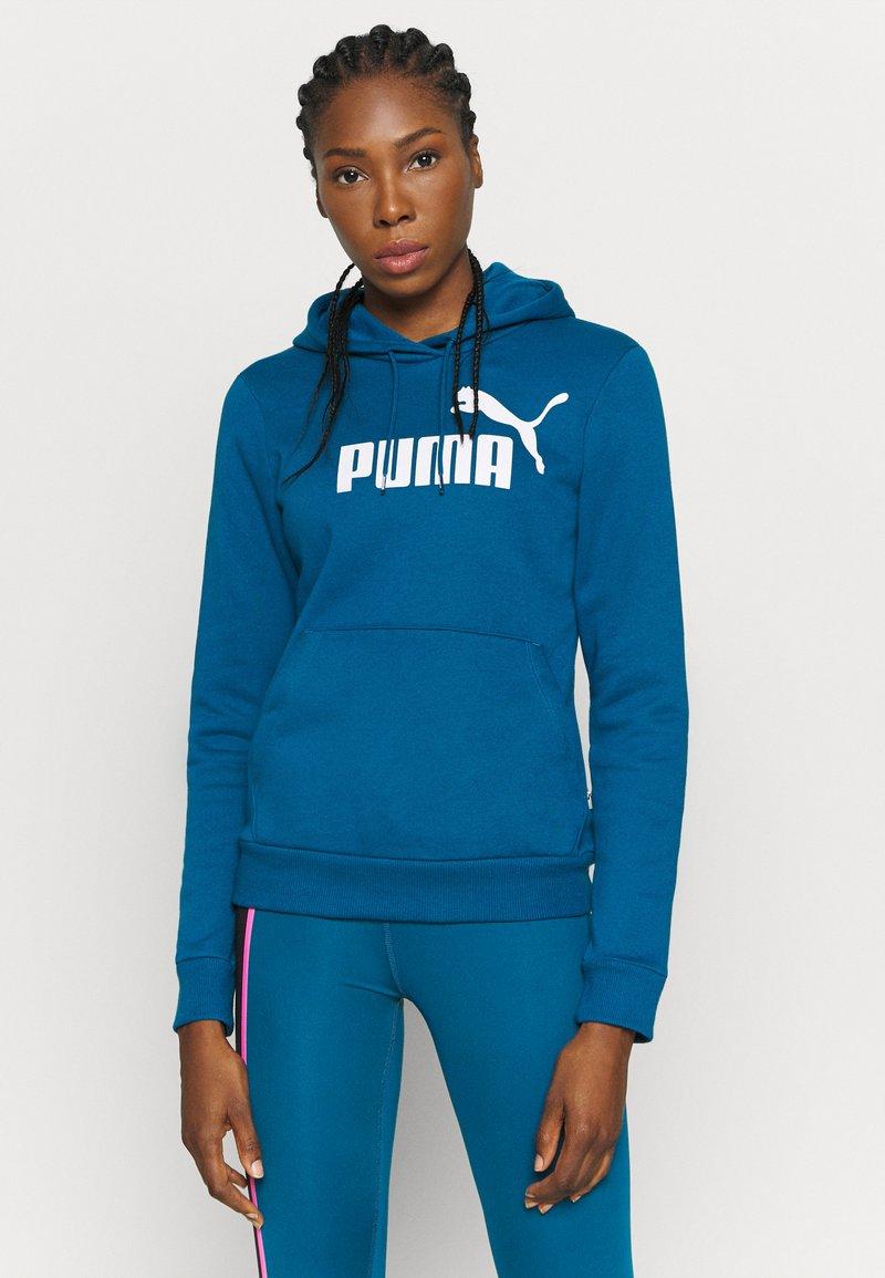 Puma - LOGO HOODY - Jersey con capucha - digi blue