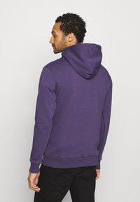 274 - APPLIQUE HOODIE - Sweater - purple - 2