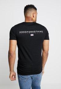 Good For Nothing - FITTED BACK BRANDING - T-shirt basic - black - 2
