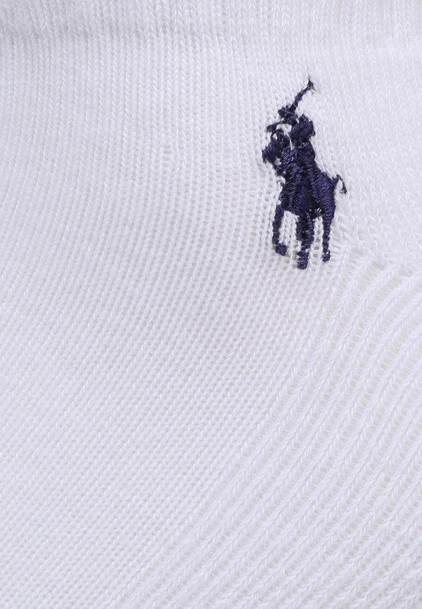 Polo Ralph Lauren BLEND EMBRO 6 PACK - Skarpety - white/biały Odzież Męska QADB