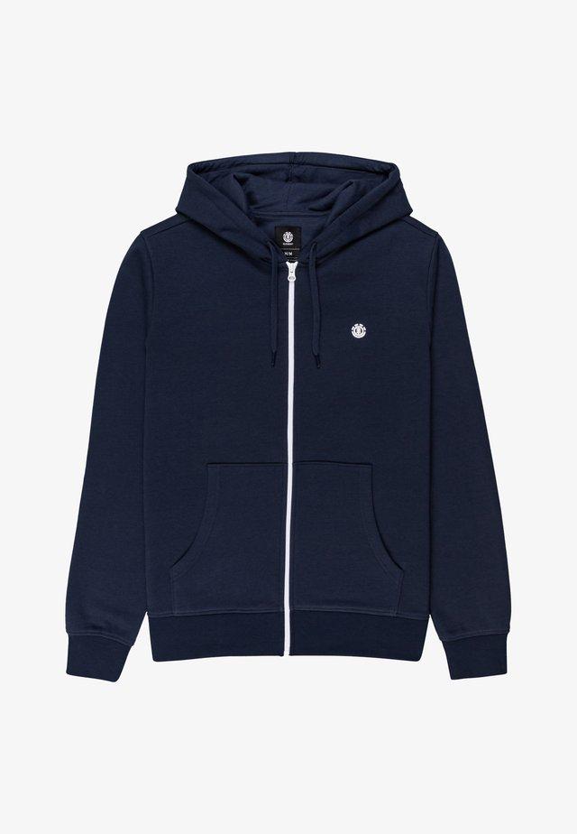 CORNELL CLASSIC - Zip-up hoodie - eclipse navy