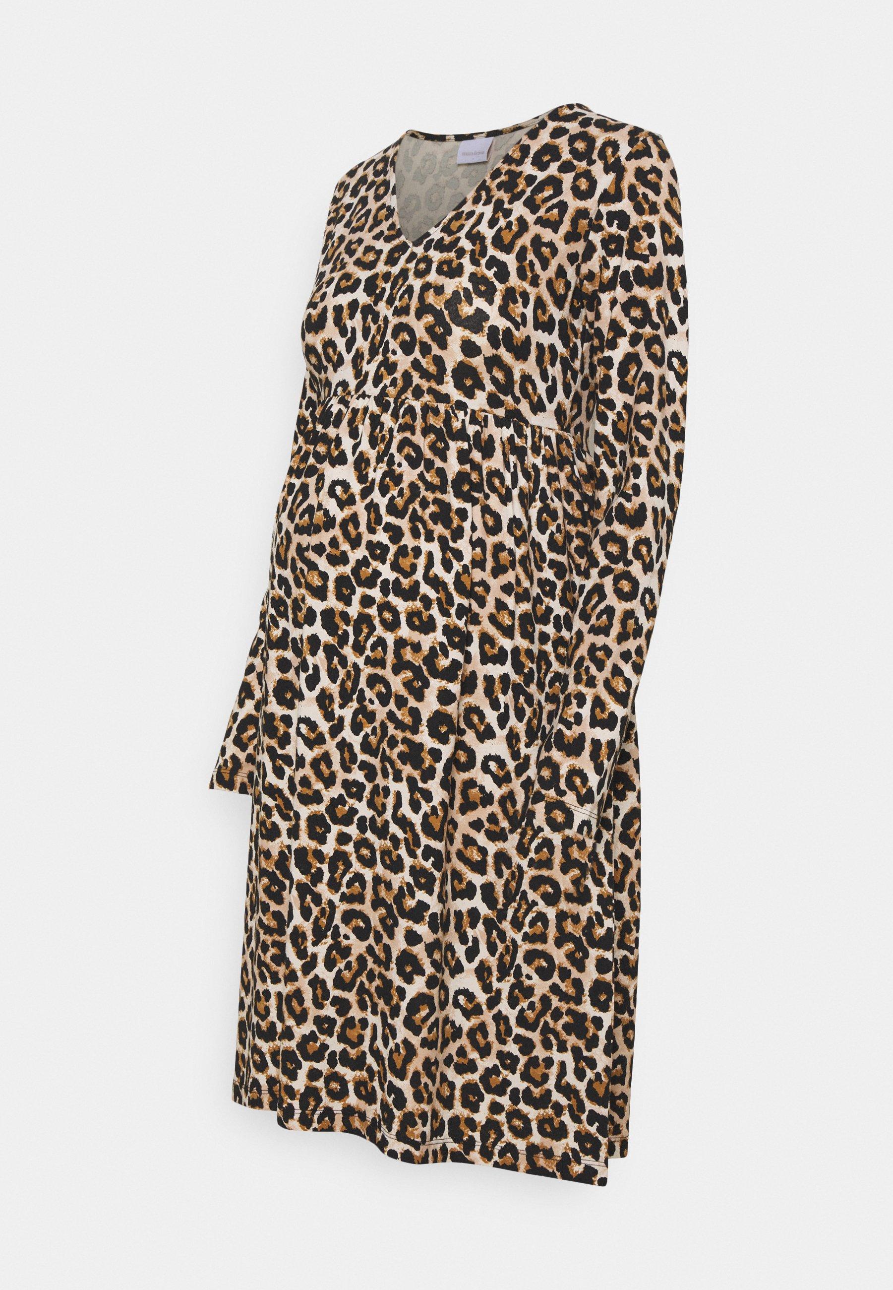 Damen MLSANNIE LEO DRESS - Jerseykleid