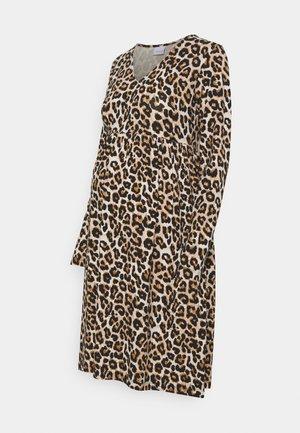 MLSANNIE LEO DRESS - Sukienka z dżerseju - black