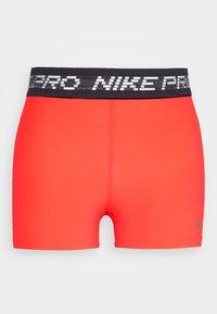 Nike Performance - PRO SHORT - Tights - laser crimson/black/metallic silver - 3