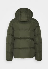 Tommy Jeans - TJM ESSENTIAL DOWN JACKET - Down jacket - dark olive - 1