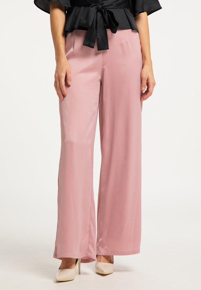 MARLENE - Pantaloni - dunkelrosa