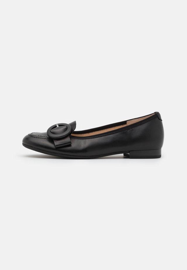 Scarpe senza lacci - schwarz