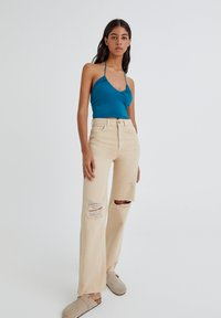 PULL&BEAR - Top - turquoise - 1