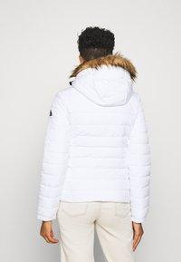Superdry - CLASSIC FUJI JACKET - Winter jacket - white - 2