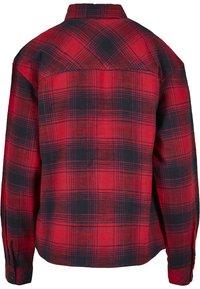 Urban Classics - Button-down blouse - darkblue/red - 6