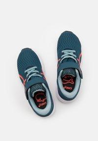 ASICS - PATRIOT 12 UNISEX - Neutral running shoes - magnetic blue/sunrise red - 5
