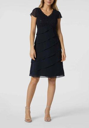 Cocktail dress / Party dress - marineblau meliert