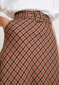 Kaffe - KADOLORES SKIRT - A-line skjørt - tiger's eye - 4