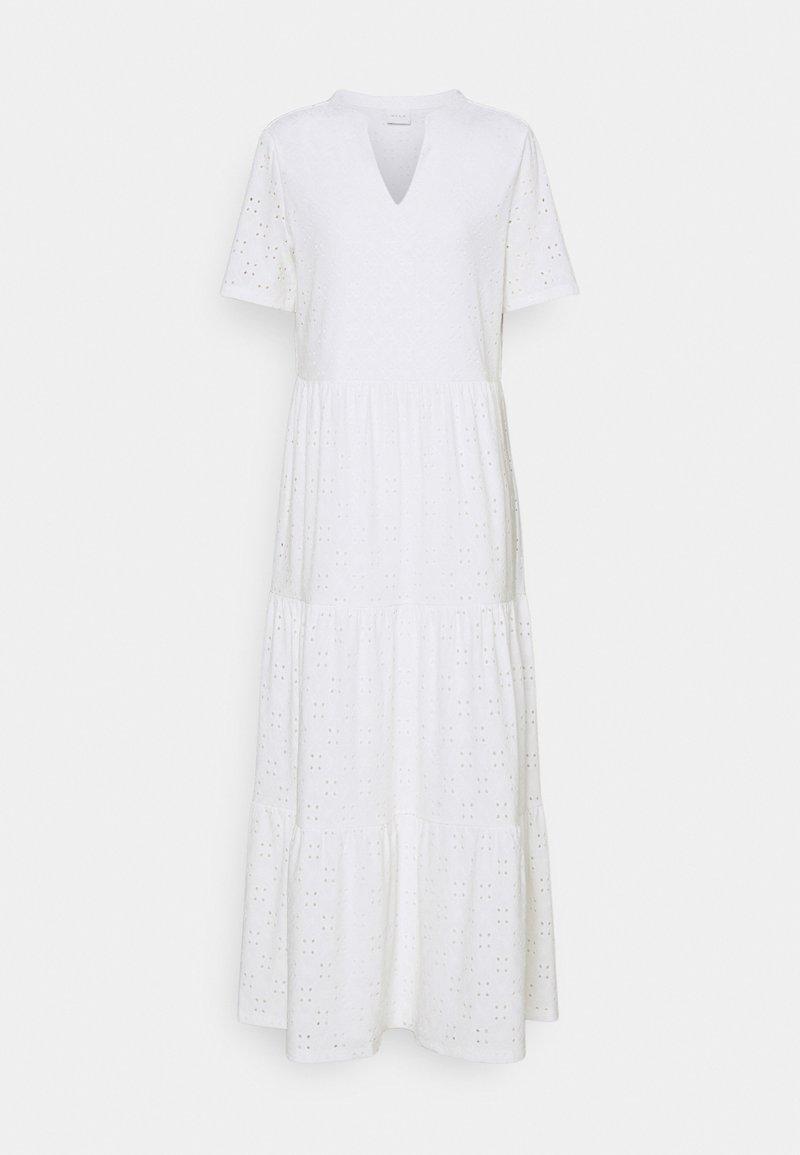 Vila - VIKAWA ANCLE DRESS - Maxi dress - cloud dancer