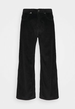 PABLO CORDUROY BAGGIE FIT  - Broek - black