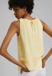 edc by Esprit - Blouse - light yellow - 2