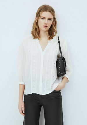 DONNA - Button-down blouse - mousse