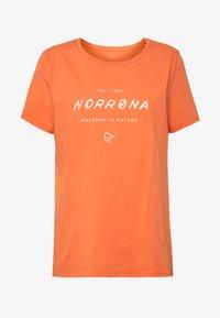 Norrøna - LEGACY - T-shirts med print - flamingo - 3