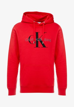 MONOGRAM HOODIE - Hoodie - racing red